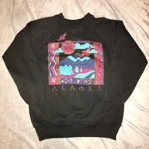 VINTAGE Alaska Crewneck Sweatshirt
